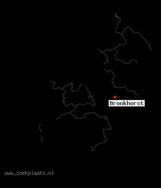 Afbeeldingsresultaat voor bronkhorst  de kaart